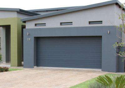 Cunningham Door Creations - Anthracite 3 stripe