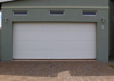 Cunningham Door Creations - White 3 stripe
