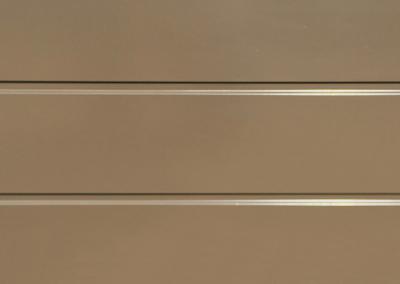 Cunningham Door Creations - Aluminium horizontal bronze