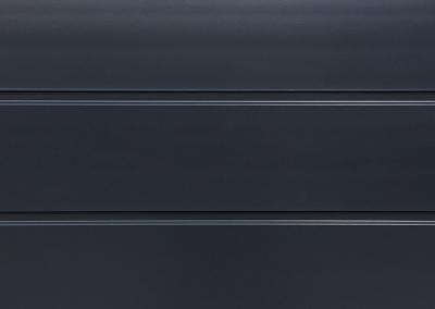 Cunningham Door Creations - Aluminium horizontal charcoal grey