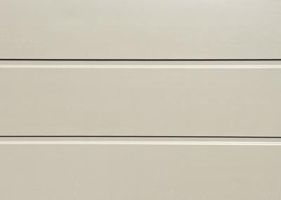 Cunningham Door Creations - Aluminium horizontal matt greyminium horizontal matt grey
