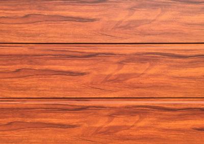 Cunningham Door Creations - Aluminium horizontal oak