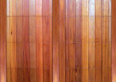 Cunningham Door Creations - Vertical barn framed