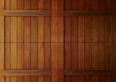 Cunningham Door Creations - Vertical slatted framed
